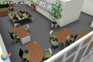 Estate Agents Desks - Meeting Desks 01