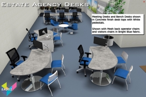 Estate Agents Desks - Meeting Desks 02