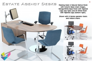 Estate Agents Desks - Meeting Desks 03