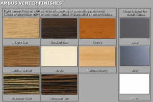 Ambus Veneer finishes for website