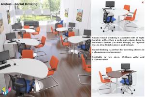 Ambus Social Desks & Meeting Desks
