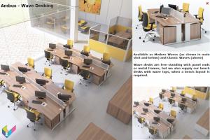 Ambus Wave Desks