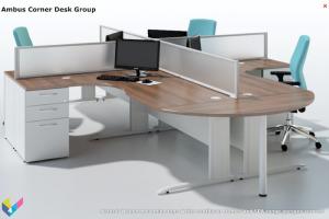 Ambus Compact Corner Desks
