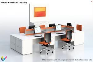 Ambus Rectangular Office Desks