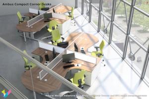 Ambus Corner Desks