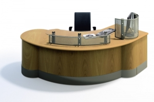 Encounter Reception Desk and Counter