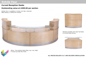 Curved Reception Desking - Entree Four-01