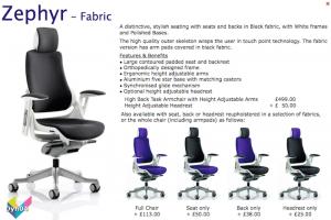 Dynamic Zephyr Fabric Armchair