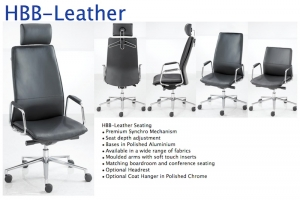 HBB Leather Office Seating