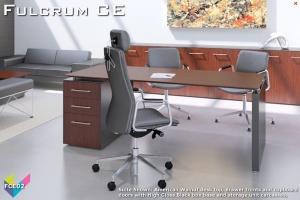Fulcrum CE Executive Desking 02 - Fulcrum Chief Executive Desks