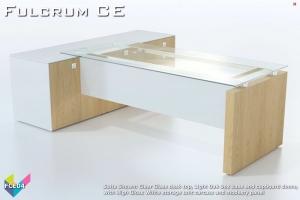 Fulcrum CE Executive Desking 04 - Fulcrum Chief Executive Desks