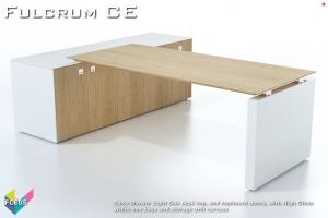 Fulcrum CE Executive Desking 05 - Fulcrum Chief Executive Desks