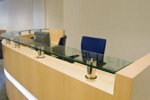 Fulcrum Professional Light Reception Desk