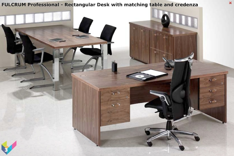 Fulcrum Professional Desking Executive Desks