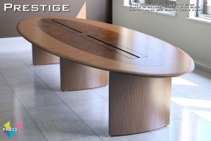 Prestige Boardroom Tables 11 - Oval Boardroom Table