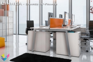 Linnea Office Bench Desks 02 - Linnea Bench Desking