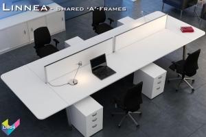 Linnea Office Bench Desks 04 - Linnea Bench Desking