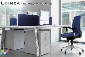 Linnea Office Bench Desks 07 - Linnea Bench Desking