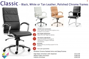Manager Leather Seating - Dynamic Classic
