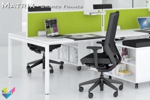 Matrix Office Bench Desks 05 - Matrix Bench Desking