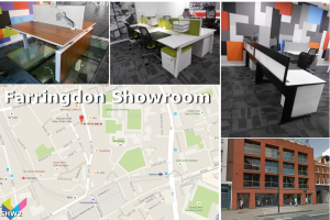 London Office Furniture Showroom - Farringdon Showroom for Wesbite