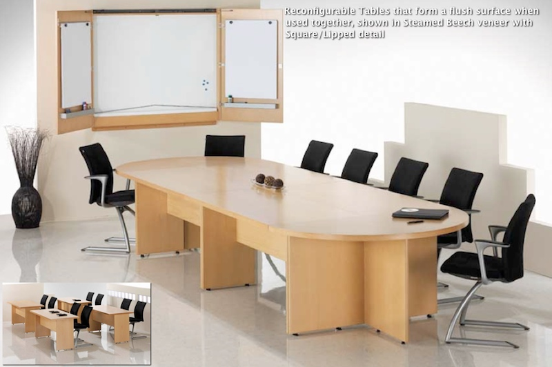 Reconfigurable & Modular Tables | Boardroom Furniture