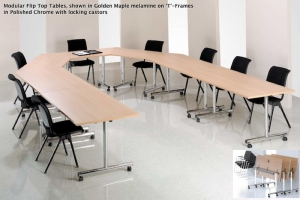 Reconfigurable Modular Conference and Meeting Tables