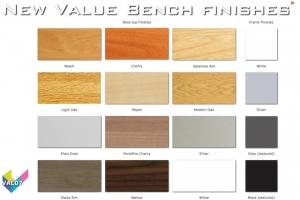 Value Bench 07 - Budget Bench Desk Finishes