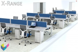 X-Range Bench Desks Open Plan