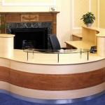 Counterparts reception desk by Tula