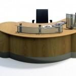 Encounter reception desk by Sven Christiansen