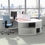 White office desk by Sven Christiansen
