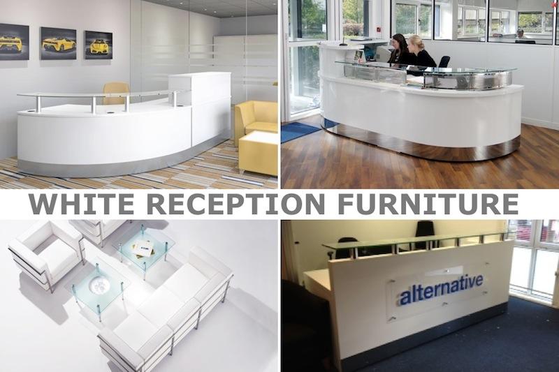 White Reception - White Office furniture