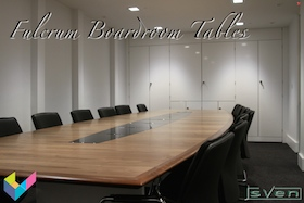 Fulcrum Boardroom Tables by Sven Christiansen Furniture