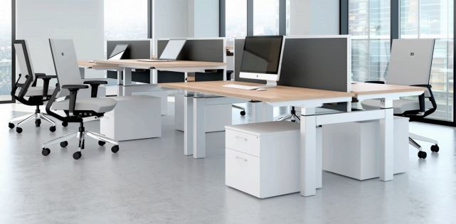 Height Adjustable Desk – With Fingertip control