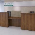 Straight Reception Desk